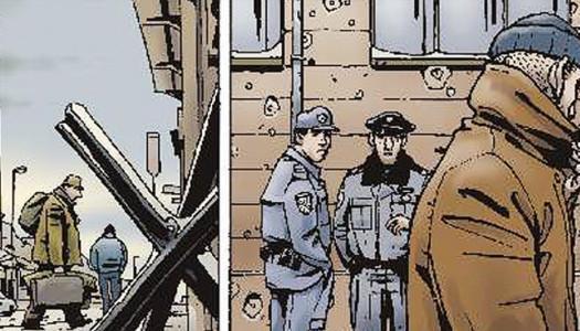 Tomaž Lavrič EVROPA, razstava originalnih tabel stripa Evropa