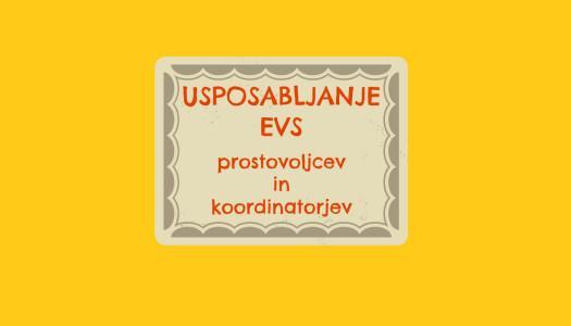 Usposabljanje EVS prostovoljcev in koordinatorjev