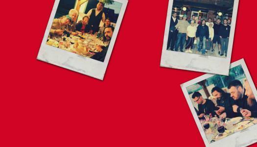 Fotografije – obisk glasbenikov Let 3 v Romani kafenava