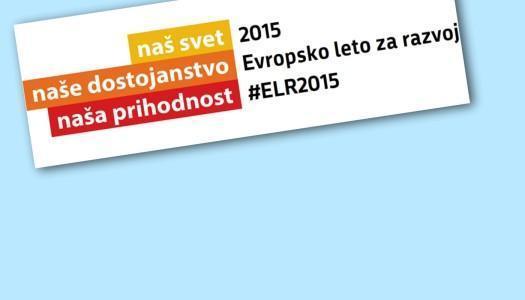 Valorizacijska konferenca v okviru Evropskega leta za razvoj 2015