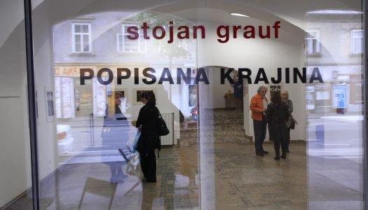 Fotografije – Otvoritev razstave Popisana krajina, Stojan Grauf