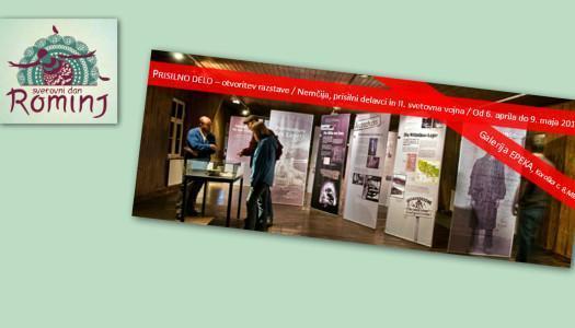 Prisilno delo – otvoritev razstave