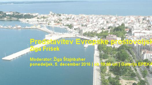 Žiga Frišek – Predstavitev Evropske prostovoljne službe