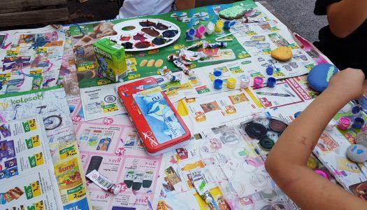Utrinki z delavnic za otroke in mladino
