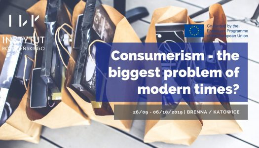 Consumerism: the biggest problem of modern times?