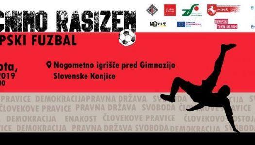 Brcnimo rasizem: evropski fuzbal