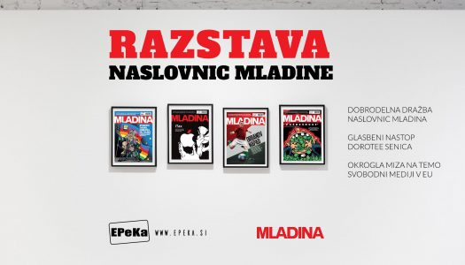Mladina Cover Pages Exhibition
