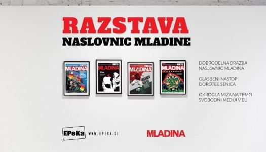 Razstava naslovnic Mladine