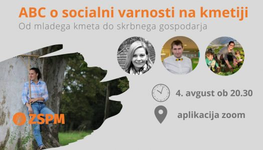 Spletni dogodek: ABC o socialni varnosti na kmetiji