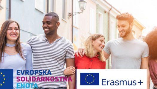 Informativni dan programov ESE in Erasmus+: Mladi v akciji (E+: MvA)