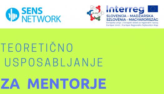 Teoretično usposabljanje za mentorje socialnega podjetništva