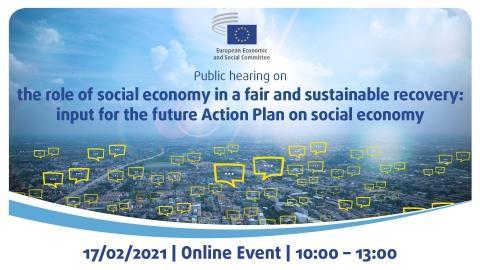 Konferenca o vlogi socialne ekonomije pri pravičnem okrevanju