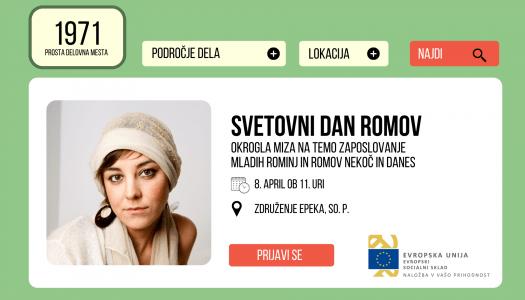 Okrogla miza: Zaposlovanje mladih Rominj in Romov nekoč in danes