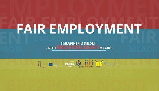 Zaključna konferenca projekta Fair Employment